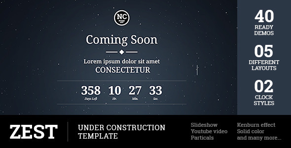 Zest – Under Construction Template (Under Construction) Download