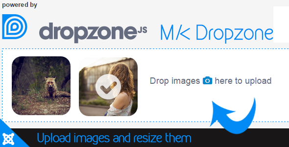CodeCanyon MK Dropzone Resize images for Joomla 11668771