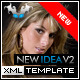 New Idea XML Template V2 ( Black / White ) - ActiveDen Item for Sale