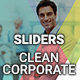 Sliders - Clean Corporate - GraphicRiver Item for Sale