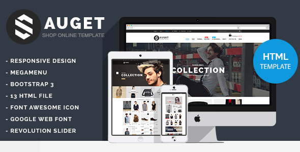 ThemeForest Sauget eCommerce HTML Template 11562749