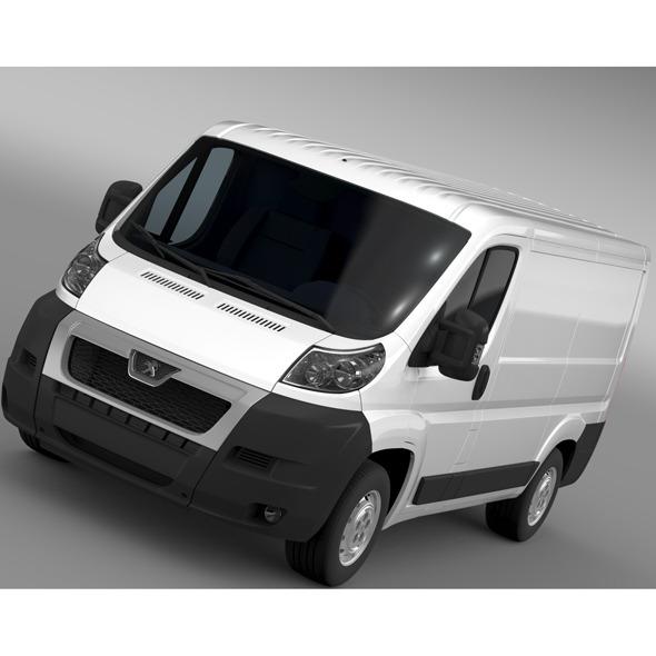 3DOcean Peugeot Boxer Van L1H1 2006-2014 11670874
