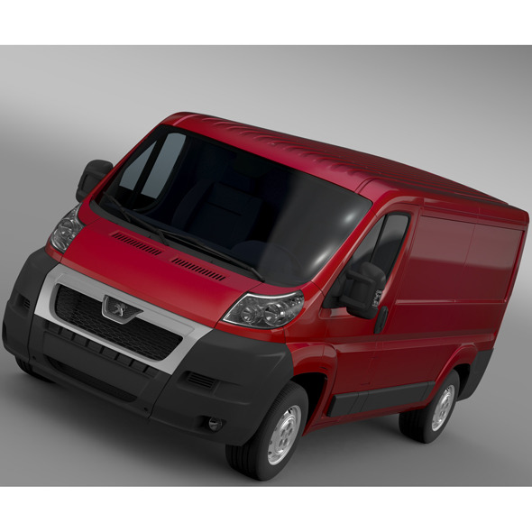 Peugeot Boxer Van L2H1 2006-2014 - 3DOcean Item for Sale