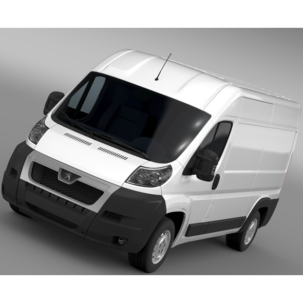 3DOcean Peugeot Boxer Van L2H2 2006-2014 11671495