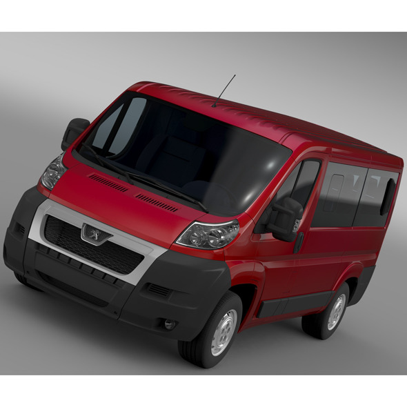 Peugeot Boxer Window Van L1H1 2006-2014 - 3DOcean Item for Sale
