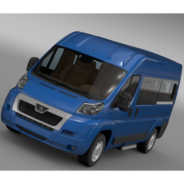 Peugeot Boxer Window Van L2H2 2006-2014