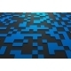 3D Rendering Of Futuristic Surface With Squares. - GraphicRiver Item for Sale