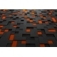 Abstract Futuristic Surface With Squares. - GraphicRiver Item for Sale