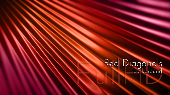 Abstract Red Diagonals