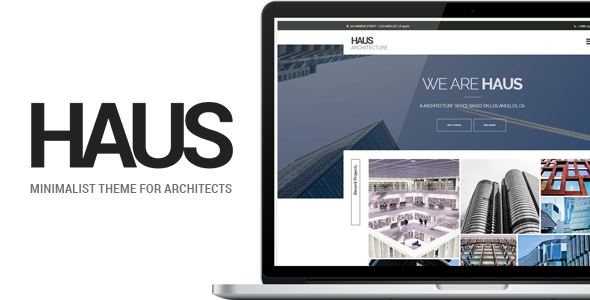ThemeForest Haus Architecture Template for Architects 11621553