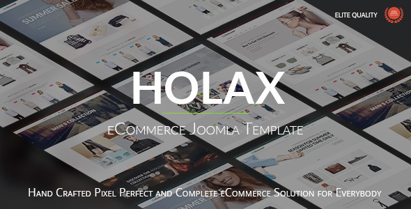 Holax Multipurpose Hikashop eCommerce Template - Shopping Retail