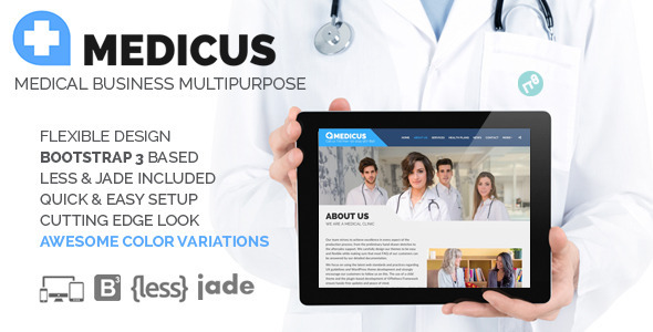 ThemeForest MEDICUS Medical Business Multipurpose HTML 11590438