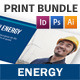 Energy Company Print Bundle - GraphicRiver Item for Sale