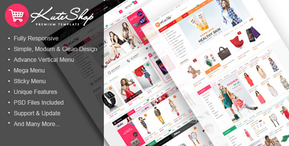 ThemeForest KuteShop Multi-Purpose HTML Template 11677371