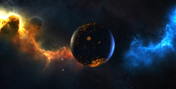 Space Nebula Background - 9