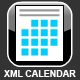 Best Small XML Calendar with Time Scheduling - ActiveDen Item for Sale