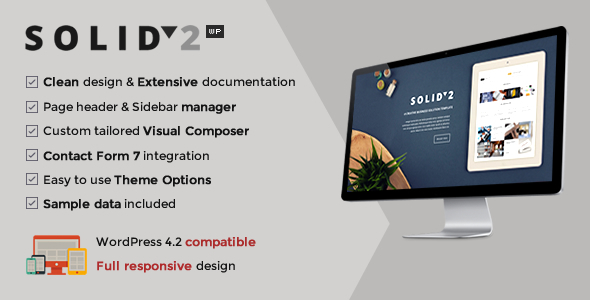 ThemeForest Solid Responsive Business WordPress Theme 11678761