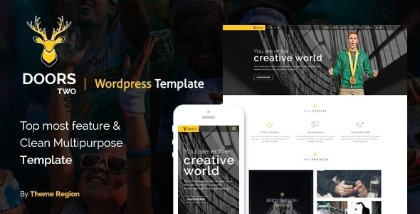 ThemeForest Doors Two Multipurpose WordPress Theme 11679245