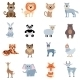 Wild And Home Animals Set - GraphicRiver Item for Sale