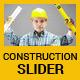 Construction Business Slider - GraphicRiver Item for Sale