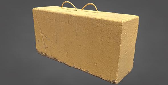 3DOcean Concrete Block 11680187