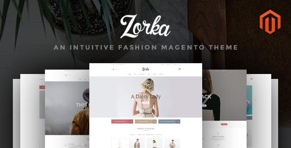 ThemeForest ZORKA Wonderful Fashion eCommerce Magento Themes 11680576