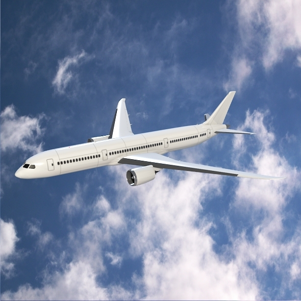 Boeing 787-9 dreamliner - 3DOcean Item for Sale