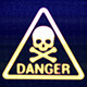 Danger Sign Skull - VideoHive Item for Sale