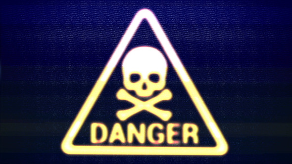 VideoHive Danger Sign Skull 11681953