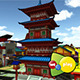 Kyoto City Japan Asset Pack