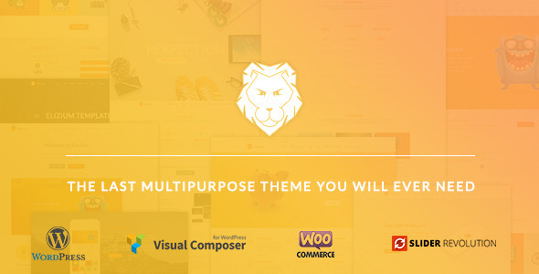 ThemeForest Lion Multipurpose WordPress Theme 11592205