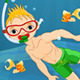 Diver Boy - GraphicRiver Item for Sale