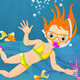 Diver Girl - GraphicRiver Item for Sale