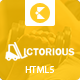 Victorious multi-purpose HTML5 template