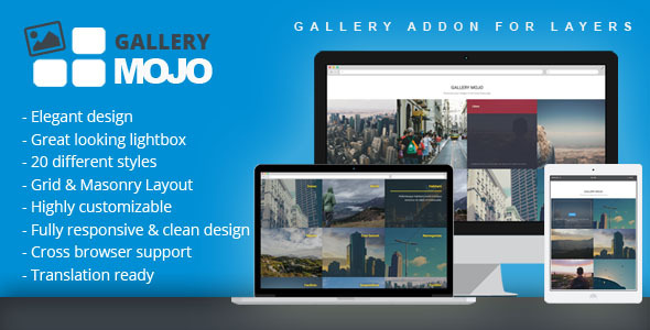 CodeCanyon Gallery Mojo Gallery Addon for Layers 11686840