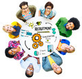 Diversity People Recruitment Search Opportunity Concept