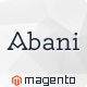 Abani - Premium Responsive Magento Theme - ThemeForest Item for Sale