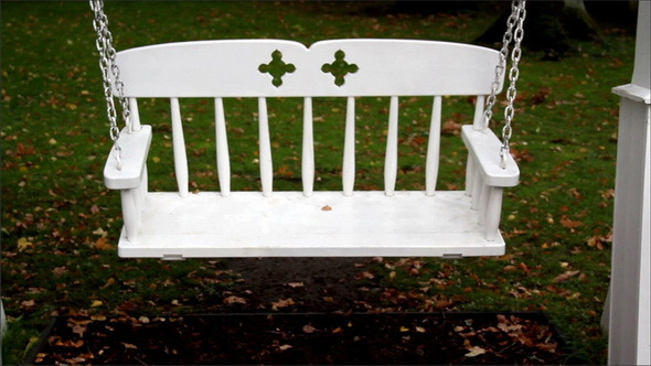 VideoHive White Metal Bench Swing 11691173