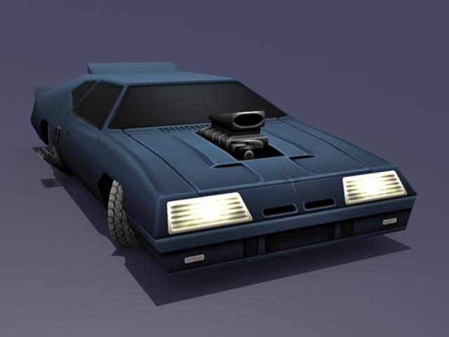 3DOcean Mad Max Interceptor 1172620
