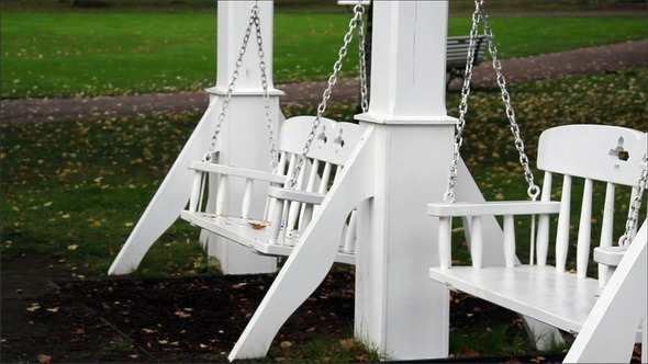 VideoHive Two Bench Swings Swinging 11691204