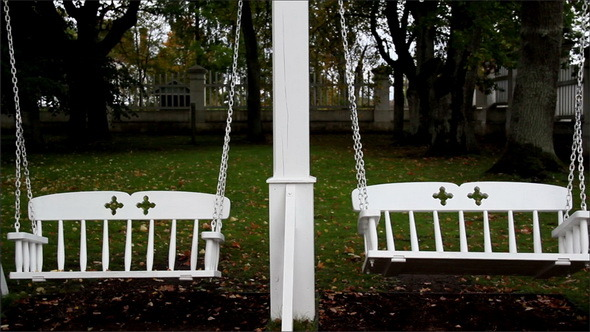 VideoHive Bench Swings and Trees 11691223