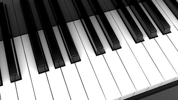 Animated Piano Keys