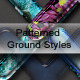 Patterned Ground Text Effects and Styles - GraphicRiver Item for Sale
