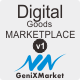 Simple Digital Good Marketplace - GeniXMarket DG