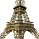 Eiffel Tower Low Poly