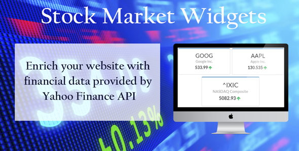 CodeCanyon Stock Market Widgets 11667244
