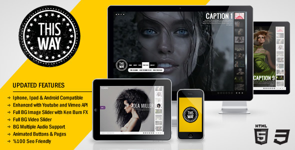 ThemeForest This Way Full Video Image Background with Audio 805310