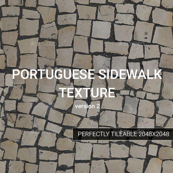 Portuguese Sidewalk Texture version 2