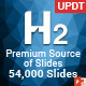 H2 Premium Source of PowerPoint Slides - GraphicRiver Item for Sale
