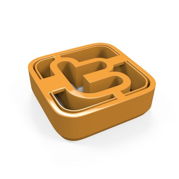 3DOcean Twitter Icon Cookie Cutter 11702479